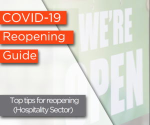 Covid19 reopening hospitality business guide
